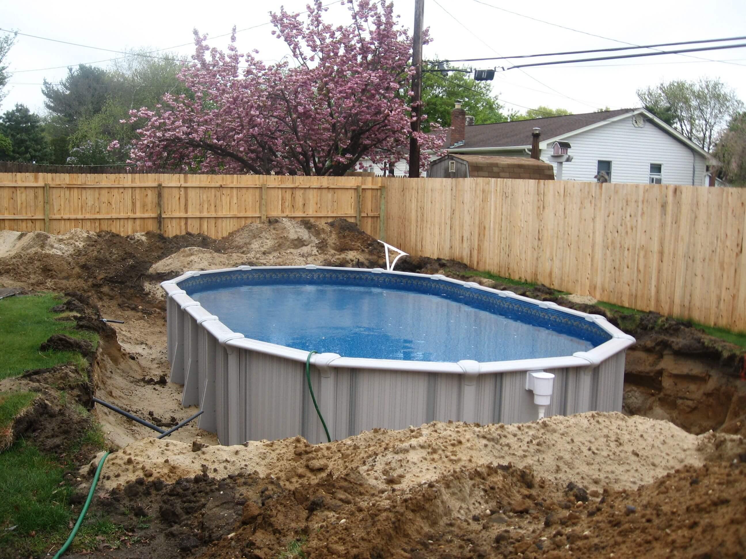 Ground Pool Patios